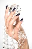 Mãos bonitas da mulher Imagens de Stock Royalty Free