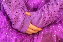 Mãos clasped Fotos de Stock Royalty Free
