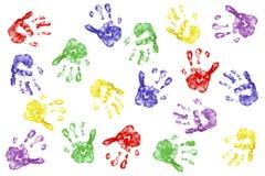 Mãos creativas Fotografia de Stock