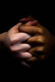 Mãos da amizade Imagens de Stock Royalty Free