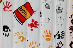 Mãos da arte Fotos de Stock