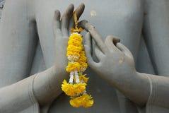 Mãos da Buda fotos de stock
