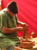 Mãos da cerâmica Imagem de Stock Royalty Free