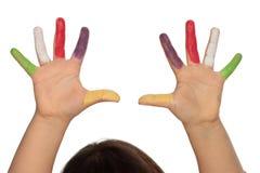 Mãos da criança Imagem de Stock Royalty Free