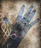 Mãos da cura Foto de Stock Royalty Free