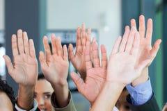 Mãos da equipe do negócio Imagens de Stock