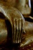 Mãos da estátua da Buda Imagem de Stock