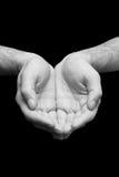 Mãos da oração da religião Imagem de Stock