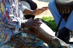 Mãos da paz 5 Fotos de Stock Royalty Free