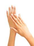 Mãos das mulheres Foto de Stock Royalty Free