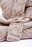 Mãos de Buddha fotografia de stock