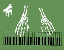 Mãos de esqueleto Imagem de Stock Royalty Free