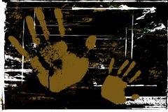 Mãos de Grunge Fotografia de Stock Royalty Free