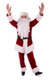 Mãos de Santa Claus acima Fotos de Stock