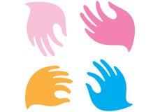 Mãos delicadas Fotografia de Stock Royalty Free