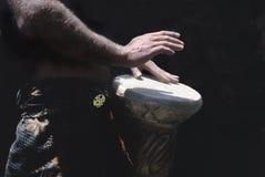 Mãos do baterista Imagem de Stock Royalty Free
