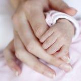 Mãos do bebê Imagem de Stock Royalty Free