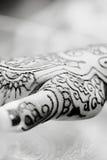 Mãos do Henna Imagem de Stock
