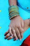 Mãos do Henna Foto de Stock