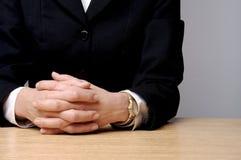 Mãos do negócio Imagem de Stock Royalty Free