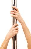 Mãos e pólo Imagem de Stock Royalty Free