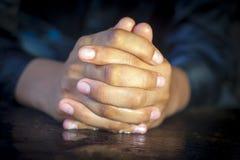 Mãos embora completas Foto de Stock