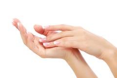 Mãos fêmeas Fotografia de Stock