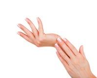 Mãos fêmeas bonitas imagem de stock royalty free