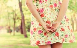 Mãos fêmeas lisas Imagens de Stock Royalty Free
