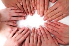 Mãos humanas Fotos de Stock Royalty Free