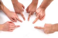 Mãos humanas Imagens de Stock Royalty Free