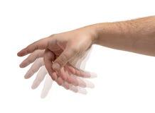 Mãos isoladas foto de stock