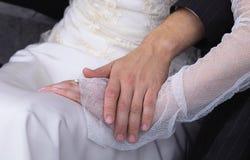 Mãos junto Foto de Stock