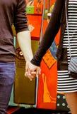 Mãos junto no amor Fotografia de Stock Royalty Free