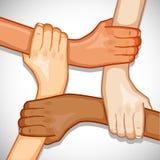 Mãos para a unidade Foto de Stock Royalty Free