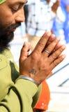 Mãos Praying Fotos de Stock Royalty Free