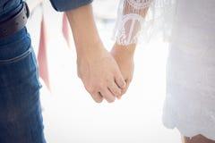 Mãos que curam o amor Imagem de Stock Royalty Free