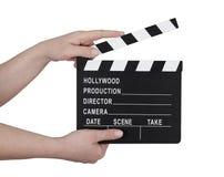 Clapperboard do filme Foto de Stock