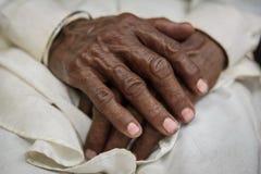 Mãos sábias Imagens de Stock