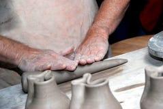 Mãos sobre Imagem de Stock