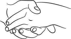 Mãos tocantes