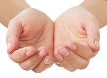 Mãos vazias Imagens de Stock