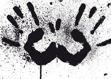 Mãos (vetor) Imagem de Stock