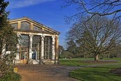 Mäßiges Haus-königliche botanische Gärten bei Kew London England Großbritannien Lizenzfreie Stockfotos
