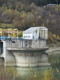 Măneciu jezioro, Prahova okręg administracyjny, Rumunia Obraz Royalty Free