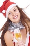 Mädchen Ñ-mas Lizenzfreies Stockfoto