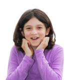 Mädchen überrascht Lizenzfreie Stockfotos