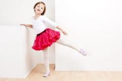 Mädchen als Tänzer Stockfoto