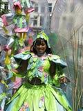 Mädchen auf carnaval Parade lizenzfreies stockfoto