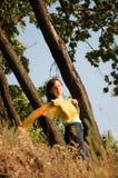 Mädchen auf der Natur Lizenzfreie Stockbilder